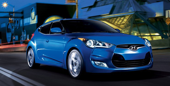 2012 Hyundai Veloster 3d view