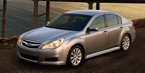 2012 Subaru Legacy The Latest Lease Deals: March 2012