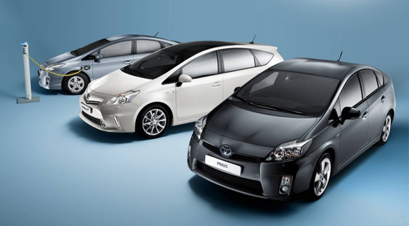 2012 toyota prius plus full hybrid mpv 3 Hybrid and diesel sales up for 2012