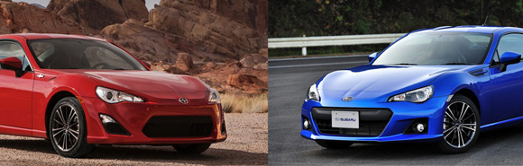 Scion FR S Subaru BRZ Subaru BRZ, Scion FR S lead the pack of fastest selling cars