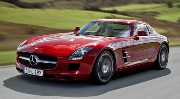 mb sls amg 2 Top 10 most expensive cars to own