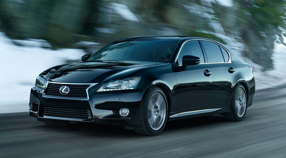 2013 Lexus GS350 Sedan Best Car Lease Specials: December 2012