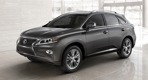 2013 Lexus RX350 Best Crossover SUV Lease Deals Around the Nation In August