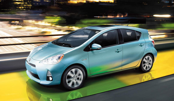 2013 toyota prius c hybird Best Car Lease Deals: Hybrid Cars & Electric Vehicles