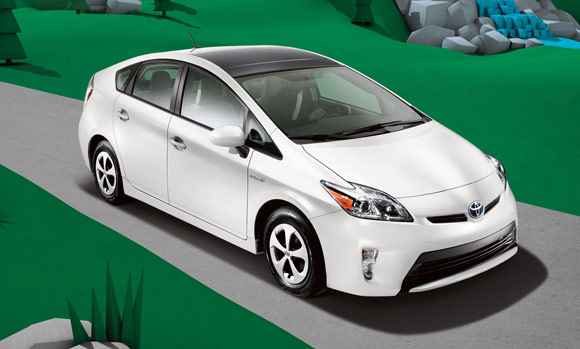 2013 toyota prius hybird Best Car Lease Deals: Hybrid Cars & Electric Vehicles
