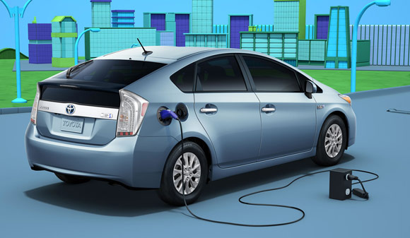 2013 toyota prius plug in ev Best Car Lease Deals: Hybrid Cars & Electric Vehicles