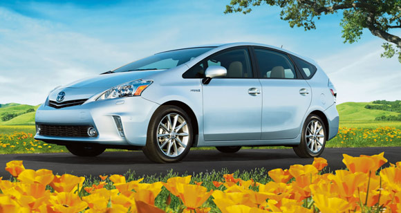 2013 toyota prius v hybird Best Car Lease Deals: Hybrid Cars & Electric Vehicles