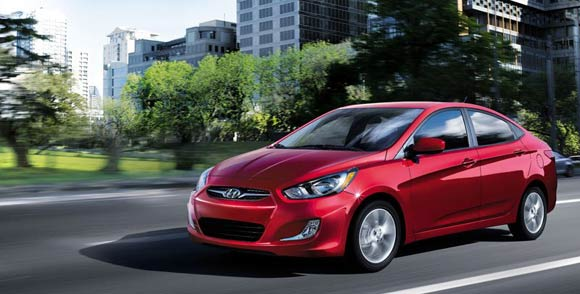Car Leases Less Than $200 A Month - 2013 Hyundai Accent Sedan Lease