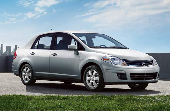 Car Leases Less Than $200 A Month - 2013 Nissan Versa Sedan Lease