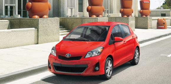 Car Leases Less Than $200 A Month - 2013 Toyota Yaris 5-Doors Hatchback Lease