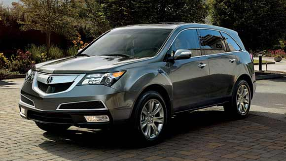 2013 acura mdx exterior 5 Best Luxury SUV Lease Deals This Summer of 2013
