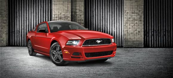 Car Lease Deals: Lease a Ford today! - 2013 Ford Mustang V6