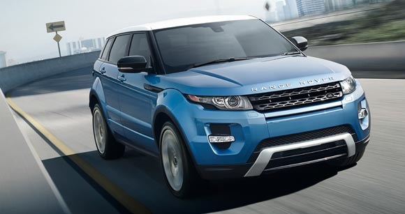 2013 land rover range rover evoque exterior 5 Best Luxury SUV Lease Deals This Summer of 2013