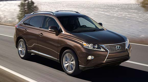 2013 lexus rx 350 exterior 5 Best Luxury SUV Lease Deals This Summer of 2013