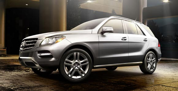 2013 mercedes benz ml350 exterior 5 Best Luxury SUV Lease Deals This Summer of 2013