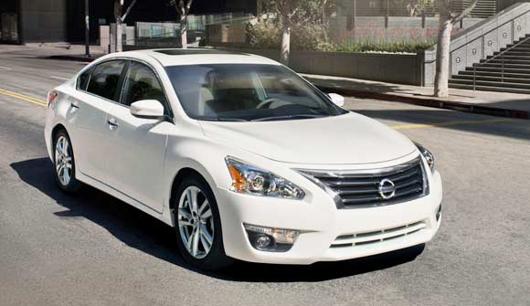 Best Car Lease Deals: May 2013 -  2013 Nissan Altima Sedan