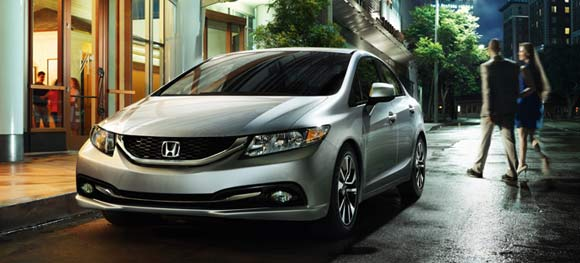 Best Car Lease Deals: May 2013 -  2013 Honda Civic Sedan