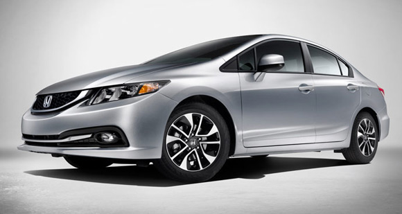 2013 Honda Civic Sedan Car Leases Less Than $100 A Month