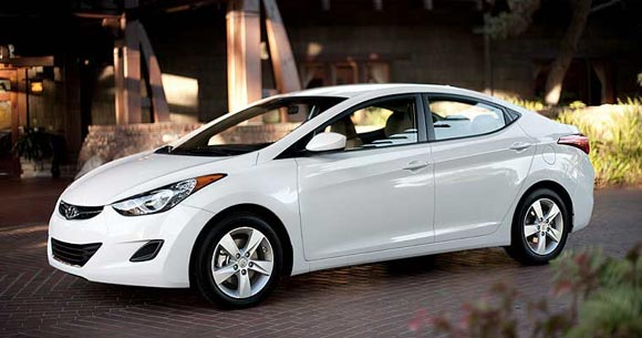 2013 Hyundai Elantra Sedan Car Leases Less Than $100 A Month