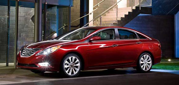 2013 Hyundai Sonata Sedan Car Leases Less Than $100 A Month