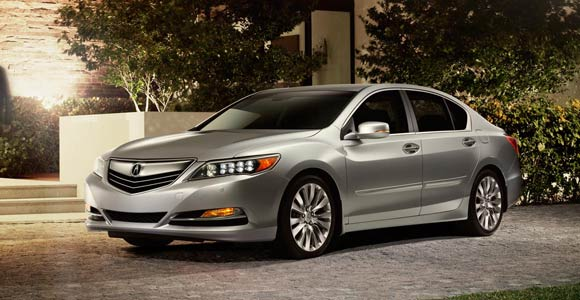 Best Car Lease Deals: June 2013 - 2014 Acura RLX