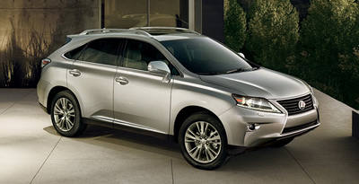 2013 RX350 Crossover SUV 1 Best Crossover SUV Lease Deals Around the Nation In August