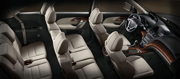 5 Best Luxury SUV Lease Deals This Summer of 2013: 2013 Acura MDX exterior