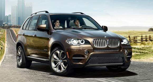 5 Best Luxury SUV Lease Deals This Summer of 2013: 2013 BMW X5 exterior