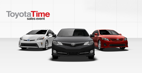 Memorial Day Sale - Lease a Toyota today!