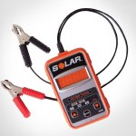 Solar Electronic Battery Tester